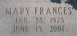 Mary Frances <I>Diggs</I> Anders