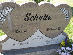 Kathleen M. <I>Sedlacek</I> Schutte