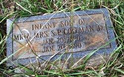 Infant Son Coleman
