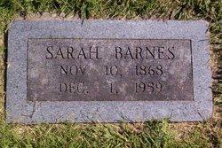 Sarah Jane <I>Hayes</I> Bolinger /  Barnes