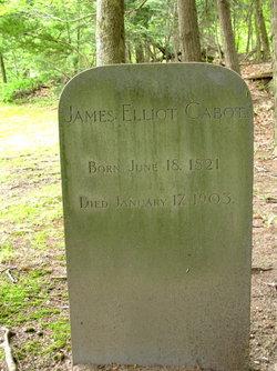 "James Elliot ""Elliot"" Cabot"