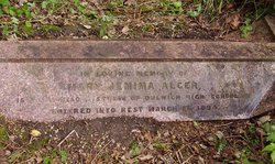 Mary Jemima Alger