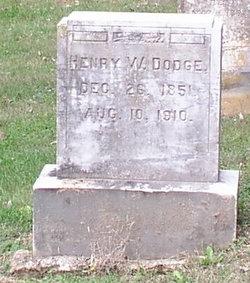 Henry W Dodge