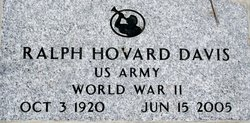 Ralph Hovard Davis