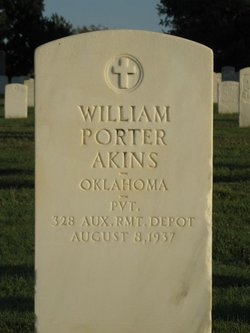 William P Akins