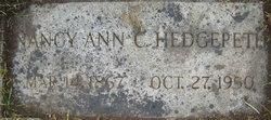 Nancy Ann <I>Crawford</I> Hedgepeth