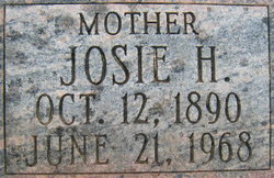 Josie Brown <I>Henderson</I> Hedgepeth