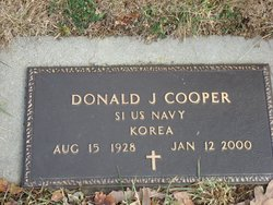 Donald J Cooper