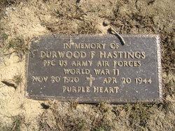 PFC Durwood F. Hastings