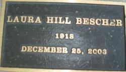 Laura <I>Hill</I> Besher