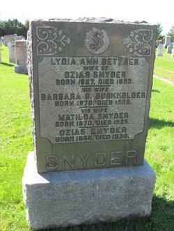 Ozias Snyder