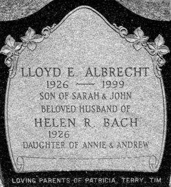 Helen Ruth <I>Bach</I> Albrecht