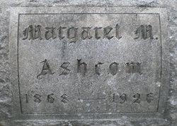 "Margaret May ""Maggie"" <I>Van Horn</I> Ashcom"