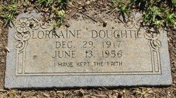 Lorraine Frances <I>Peyton</I> Doughtie