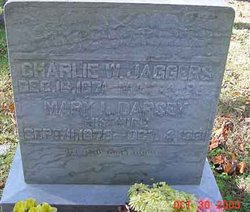 """Charles Wesley """"Chas"""" Jaggers"""