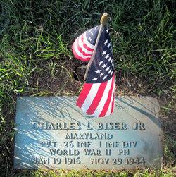 Pvt Charles Lewis Biser, Jr
