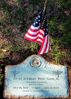 Lieut Stewart Page Cline, Jr