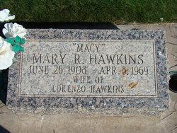 Mary Cadwallader <I>Rowley</I> Hawkins