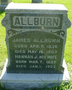 Hannah Jane <I>Patterson</I> Allburn