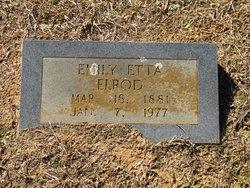 Emily Etta <I>Morrow</I> Elrod