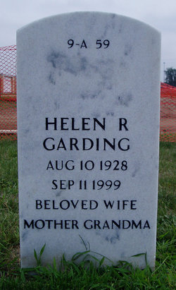 Helen R Garding