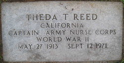 Theda Ellen <I>Thaxton</I> Reed