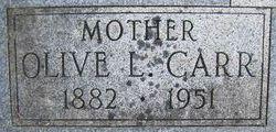 Olive Lavinia <I>Carr</I> Thaxton