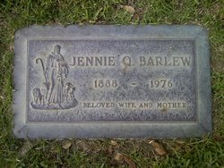 Jennie <I>Quimbley</I> Barlew