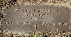 """Wavern Leon  Lee """"Bud"""" Merrill"""