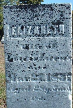 Elizabeth <I>Isgrigg</I> Lucas