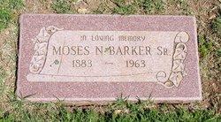 Moses N Barker, Sr