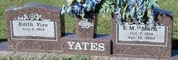 "English Magee ""Mack"" Yates"