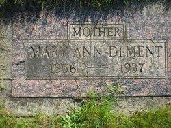 Mary Ann Dye <I>Curtis</I> DeMent