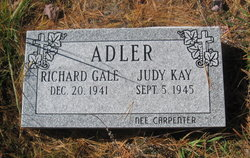 Judy Kay <I>Carpenter</I> Adler