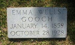 Emma <I>Wells</I> Gooch