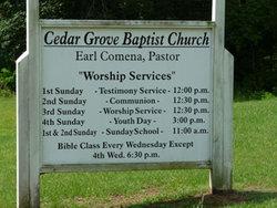 Cedar Grove Baptist Cemetery
