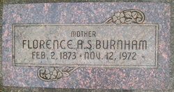 Florence Agnes <I>Saunders</I> Burnham