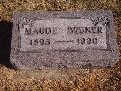 Maude <I>Anderson</I> Bruner