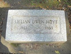 Lillian Nellie <I>Dwen</I> Hoyt