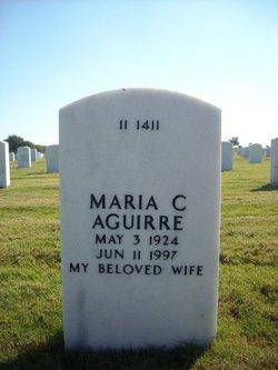 Maria Cruz <I>Suarez</I> Aguirre