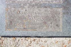 Martha Byrd <I>Cecil</I> Jones