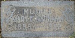 Mary Elizabeth <I>Foxley</I> Backman