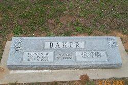 Chineenah Jo <I>York</I> Baker