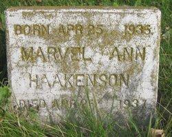 Marvel Ann Haakenson