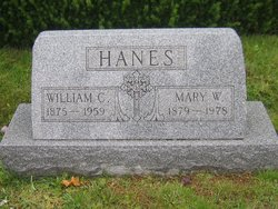 William C Hanes