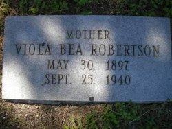 Viola Bea <I>Barnard</I> Robertson