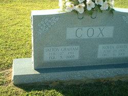 Novia Gertrude <I>Davis</I> Cox
