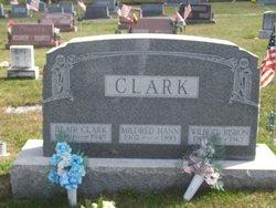 Mildred <I>Hann Clark</I> Risbon