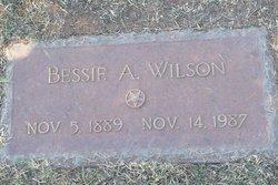 Bessie A. Wilson