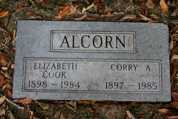 "Elizabeth ""Betty"" <I>Cook</I> Alcorn"